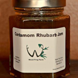 cardamom rhubarb