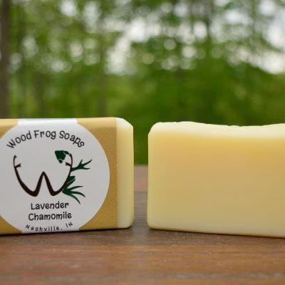 image of lavender chamomile bar soap