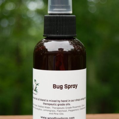 bottle of insect repellent