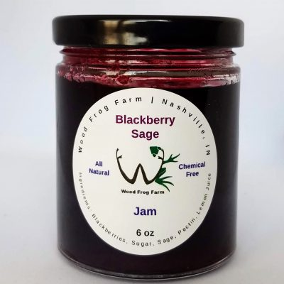 Jar Blackberry Sage Jam