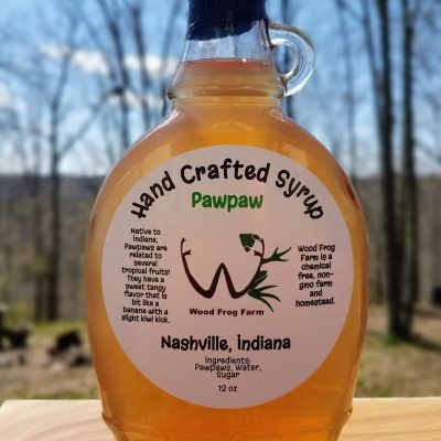 Bottle Paw Paw Syrup