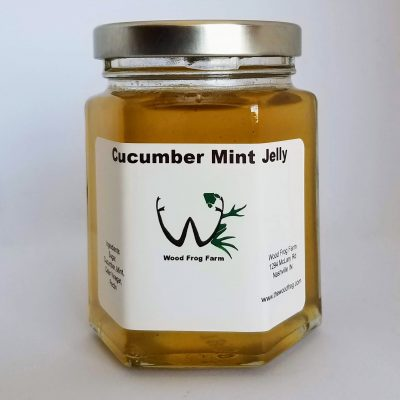 Jar Cucumber Mint Jelly