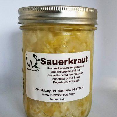 Jar Sauerkraut
